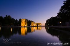 Egypt at Madrid - Debod Temple by aliciaortego_martinez
