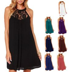 A roomy and stylish halter dress you can wear to just about any event.