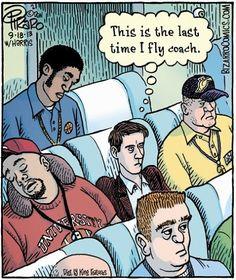 Puns | Flying Coach | Created by Bizarro Comics via Funny Technology - Community - Google+