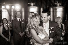 Chris & Kim's first dance at Saltwater Farm