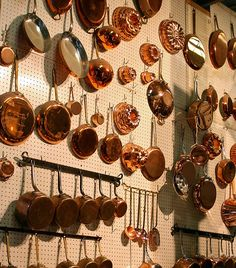 The copperware at E. Dehillerin in Paris where Julia Child shopped. #HappyBirthdayJulia