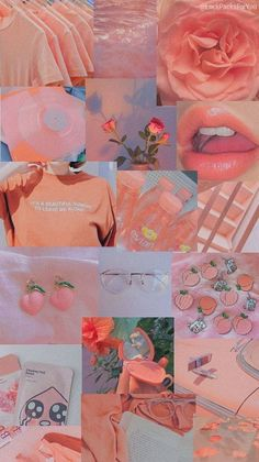 《♡》 - Pink Pastel Mood Board Best image for clouds of aesthetic backgrounds . Iphone Wallpaper Tumblr Aesthetic, Iphone Wallpaper Vsco, Mood Wallpaper, Iphone Background Wallpaper, Aesthetic Pastel Wallpaper, Retro Wallpaper, Aesthetic Wallpapers, Peach Wallpaper, Trendy Wallpaper