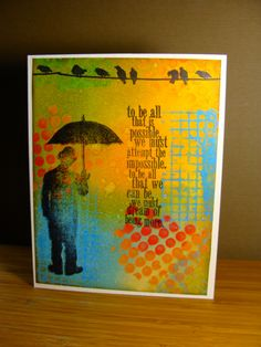 Dedicated to the Master of Inks! by girlgeek101 - Cards and Paper Crafts at Splitcoaststampers