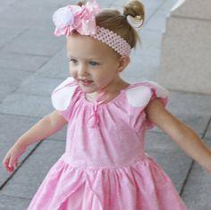 Pink Dress -Little girl Dress- Toddler dress- Handmade dress- Birthday dress-Peasant dress-flower girl dress- child dress -princess dress