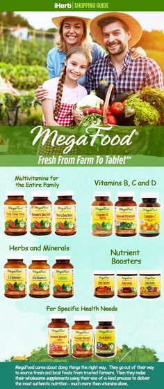 For all your vitamin needs, check out what MegaFood has to offer. Follow the link in the graphic to learn more.