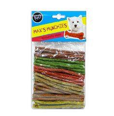 80 pack Dog 4.5 inch Munchy Sticks healthy and delicious snack