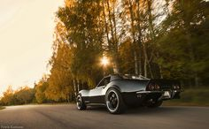 The last trip before winter. Corvette -68 700hp++