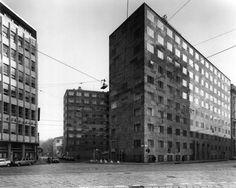 giò ponti - palazzo montecatini, milano, 1938
