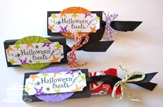 Lots of cute Halloween candy packaging ideas at this site