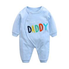 >> Click to Buy << CalaBob 2017 New Spring I Love My Mom Dad Printed Baby Romper Long Sleeve Cotton Baby Costume Baby Jumpsuit Newborn Clothing  #Affiliate