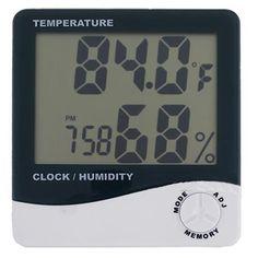 $4.07 (Buy here: https://alitems.com/g/1e8d114494ebda23ff8b16525dc3e8/?i=5&ulp=https%3A%2F%2Fwww.aliexpress.com%2Fitem%2F2015-New-Weather-Station-Digital-LCD-Thermometer-Hygrometer-Temperature-Humidity-Meter-Gauge-Clock-Alarm-Wholesale%2F32691335306.html ) 2015 New Weather Station Digital LCD Thermometer Hygrometer Temperature Humidity Meter Gauge Clock Alarm Wholesale for just $4.07