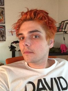 Gerard Way selfie from this morning