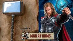"The show ""Man at Arms"" makes Mjollnir.  Fantastic show but now I need that hammer.  Not want; NEED!"