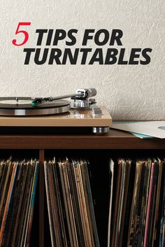 Crutchfield outlines some common features and options that you'll come across when you shop for turntables. We also cover what they mean so you can decide which ones best fit your needs.