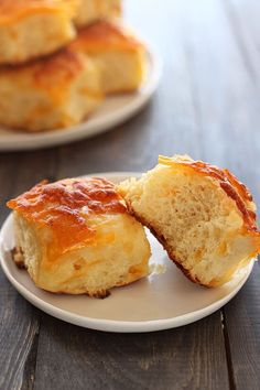 So light fluffy and cheesy! YUM OVERLOAD!