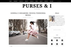 Laura Comolli, Founder and blogger of Purses and I, wearing Peter Langner's dress at Paris Fashion Week. See more at: http://www.pursesandi.net/gonna-e-sneakers-nuova-tendenza-moda