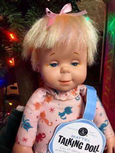 Original Drowsy doll. (rare kitty cat pjs) 1964' Repo box/tags