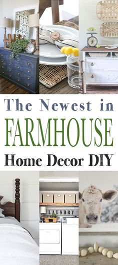 The Newest in Farmhouse DIY Home Decor - The Cottage Market