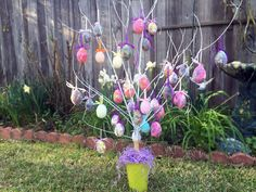 How to make an Easter Egg Tree Tutorial So cute! Thanks for watching! INSTAGRAM : letas_kitchen ADDRESS: Leta's Kitchen P.O. Box 3534 Meridian, MS 39303 Care...