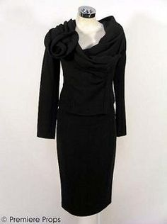 Donna Karan crepe suit