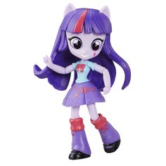 Buy My Little Pony: Twilight Sparkle Doll at Mighty Ape NZ. This My Little Pony Equestria Girls Minis Twilight Sparkle doll is fun to pose! Pretend to express the personality of Twilight Sparkle with this cute. My Little Pony Twilight, My Little Pony Party, My Little Pony Dolls, All My Little Pony, My Little Pony Games, Mlp Twilight, Equestria Girls, My Little Pony Equestria, Girl Friendship