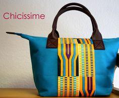 Chicissime // Blue meets Kente.I kinda like it:)
