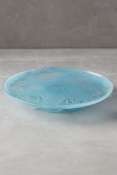 Frosted Doily Cake Stand - anthropologie.com