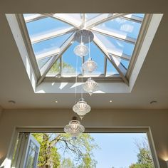 Westbury's made to order timber roof lanterns are the perfect solution for adding light and ventilation to any flat roof. Home Ceiling, Glass Ceiling, Glass Roof, Skylight Glass, Skylight Design, Roof Skylight, Skylights, Lantern Roof Light, Roof Design