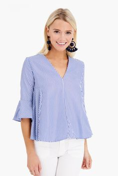 Adelaide Blouse Dressy Summer Outfits, Preppy Outfits, Summer Outfits Women, Summer Skirts, Summer Tops, Summer Dresses, Spring Summer Fashion, Couture, Blouse