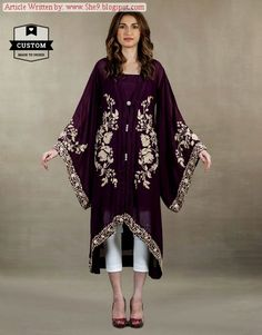 AFH - Ayesha Farook Hashwani Fall / Winter Pret Collection 2014 - She9 | Change the Life Style