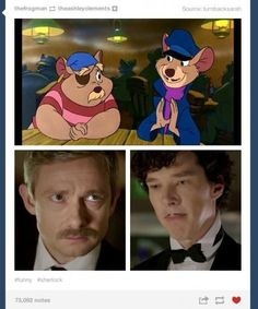 """""""what do we say about coincidences Sherlock?"""" """"The universe is rarely so lazy."""""""