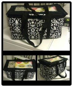 Top-A-Tote on a Large Utility Tote by Thirty-One