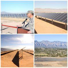 Arizona Air Force Base Celebrates Largest Solar Array of Any on U.S. Department of Defense Grounds | Renewable Energy
