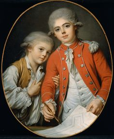 Portrait of Two Boys (said to be the Autichamp Brothers) | Museum of Fine Arts, Boston