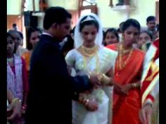 Wedding Ring Exchange-Christian Marriage in Kerala