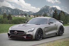 Mansory's Custom Mercedes-AMG GT S is a Matte Grey Monster - Maxim