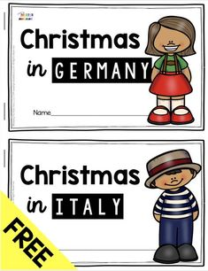 FREE BOOK – Christmas in Germany and all about St. Nicholas – learn all about Christmas traditions in Germany – Mexico and Italy – Christmas around the world for kindergarten and first grade – try FREE and printable resources to… Continue Reading → Christmas Traditions In Germany, Christmas In Germany, Christmas In Italy, Christmas Decor, Christmas Holidays, Holiday Decor, Kindergarten Classroom, Classroom Activities, Holidays Around The World