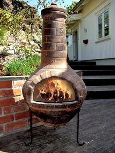 FINN – Mexikansk chimenea, utepeis, peis, ildsted, grill