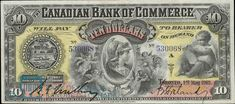 Buy online, view images and see past prices for Canadian Bank of Commerce, 1888 Proof Banknote. Toronto, Roman Warriors, Old Coins, Cherub, Paper, Prints, Canada, Banknote, Stamps