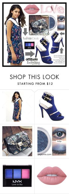 """""""TwinkleDeals 9. / V"""" by amra-sarajlic ❤ liked on Polyvore featuring NYX, Lime Crime, H&M and twinkledeals"""