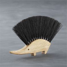 I love this little hedgehog brush from Crate and Barrel. Makes me want to sweep something up!