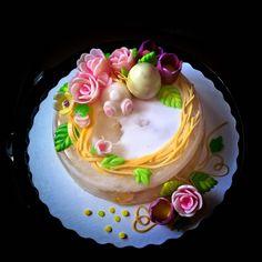 Happy Easter #jellycake #thạchhoanổi #agarcake
