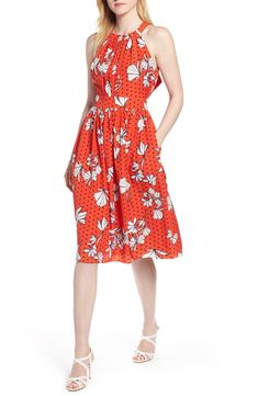 Find and compare 1901 Tie Back Halter Neck Dress across the world's largest fashion stores! Casual Dresses, Summer Dresses, Floral Sundress, Enjoying The Sun, Tie Backs, Halter Neck, Nordstrom Dresses, My Style, Vintage