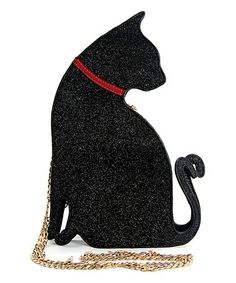 Another great find on #zulily! Black Cat Crossbody Bag #zulilyfinds