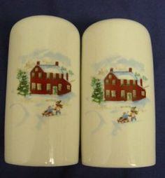 Faberware White Christmas Salt & Pepper Shaker by Faberware. $9.95
