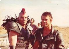 Great Road Warrior production shot.