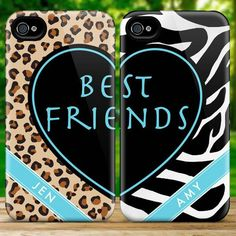 Best friends phone cases cute customizable