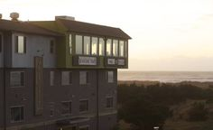 Adrift Hotel Long Beach (Washington) Offering scenic ocean views, this beachfront hotel is located in Long Beach, Washington. Guests can enjoy locally inspired cuisine at the Adrift Hotel?s top floor restaurant; [pickled fish] eat + drink.