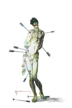 Green Arrow #41 Joker Variant - Bill Sienkiewicz