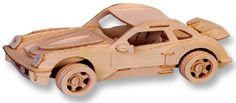 BESTSELLER! 3-D Wooden Puzzle - Small Car Model P... $3.79